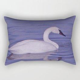 Trumpeter Swan Rectangular Pillow
