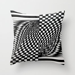 Roman Number One Throw Pillow