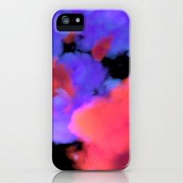 Neon Clouds iPhone Case
