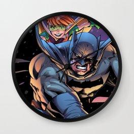 The Dark returns Knight Wall Clock