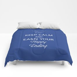 Earn Your Happy Ending Comforters