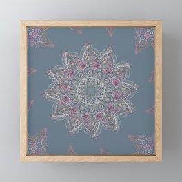 Dawn Mandala Framed Mini Art Print