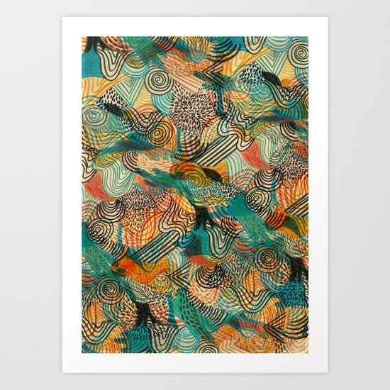 I'm crazy about Estelle Art Print