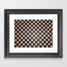 MEDITATION-SQUARE Framed Art Print