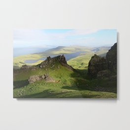 Green Hills Scotland - Travel Photo Metal Print