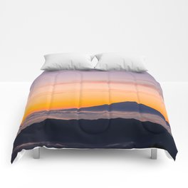 Mountain in the Clouds Comforters