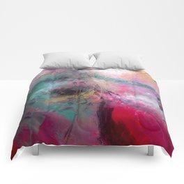 Amaranth Pink Comforters