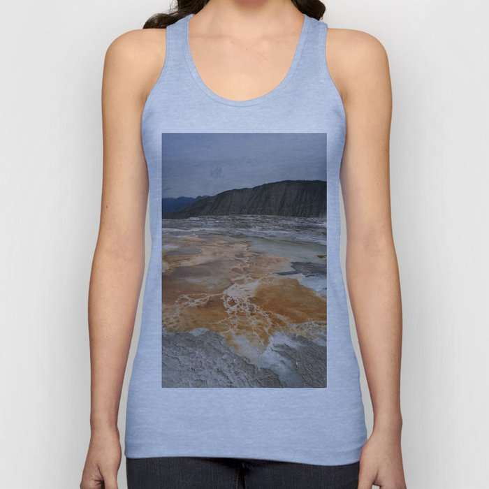 Mammoth Hot Spring Colors Unisex Tank Top