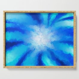 Tropical Sea Flower Serving Tray