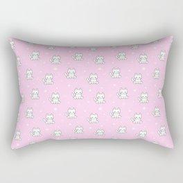 Cute kitty cat Rectangular Pillow