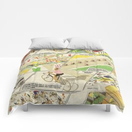 Tour de France Comic Book Comforters