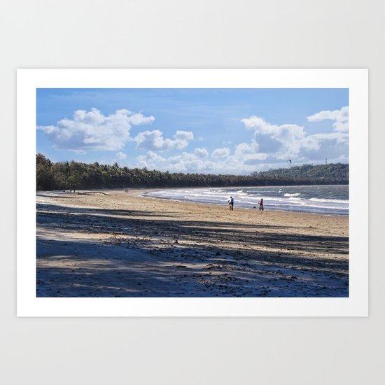 4mile Beach Art Print