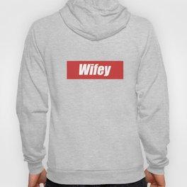 Wifey Cool Gift Wife Hoody