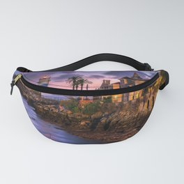 Cascais, lighthouse and villa, Portugal Fanny Pack