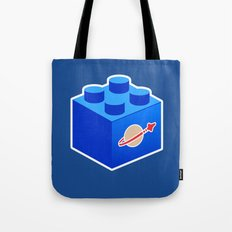 Space Lego Tote Bag