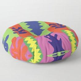 Henri Matisse Cut-Outs Pattern Artwork for Wall Art, Prints, Posters, Men, Women, Youth Floor Pillow