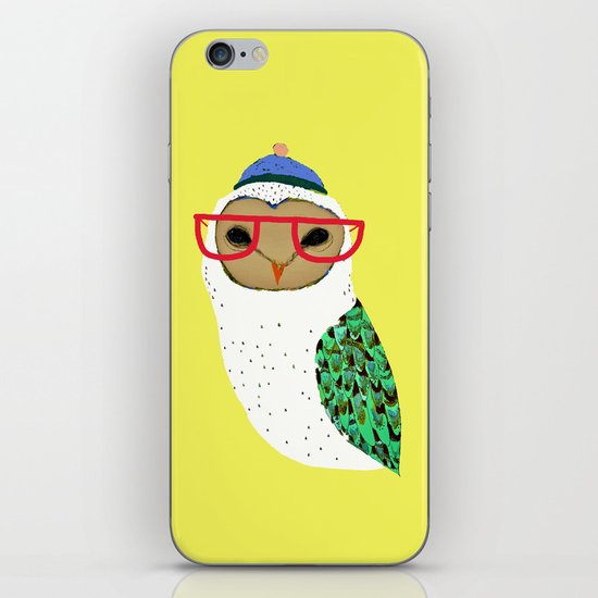 I Love Owls iPhone & iPod Skin