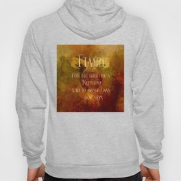 FLAME for the birth of a Nephilim and to wash away our sins. Shadowhunter Children's Rhyme. Hoody