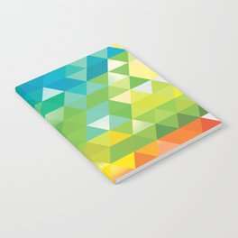 Triangle landscape Notebook