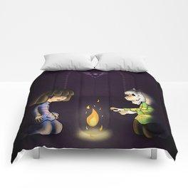 Frisk and Asriel Comforters