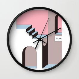 Go Away - At least try. Wall Clock