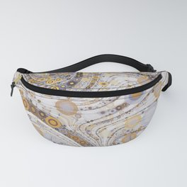 CASABLANCA a bohemian design using soft earth tones Fanny Pack