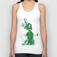 cello Tank Tops featuring Cello and flowers by Design4u Studio