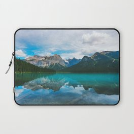 The Mountains and Blue Water - Nature Photography Laptop Sleeve