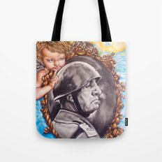 COME BACK OR LEAVE By Davy Wong Tote Bag