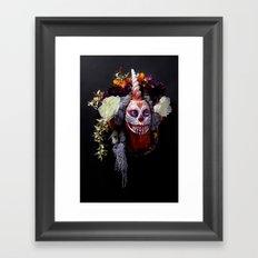 Tiger Blossom Muertita Framed Art Print