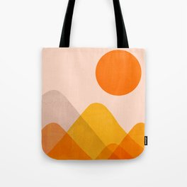 Abstraction_Mountains_02 Tote Bag