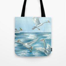 Children of Lir Tote Bag