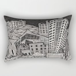 Dublin Theatres Rectangular Pillow