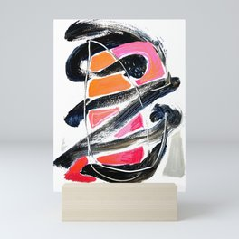 The Big Zag Mini Art Print