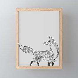 Fearless Fox Framed Mini Art Print