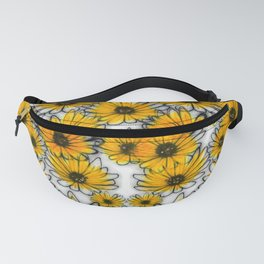 Floral invasion Fanny Pack