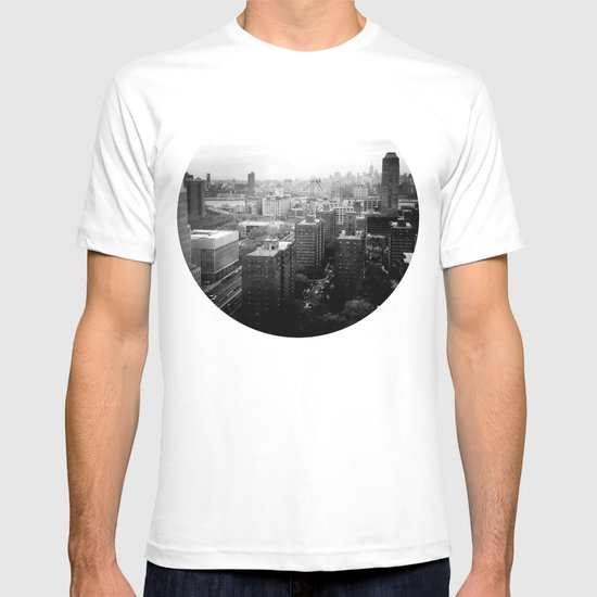 Brooklyn Black and White T-shirt
