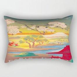 Vintage poster - Tokyo Rectangular Pillow