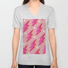 Barbie Lightning Unisex V-Neck