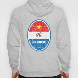 World Cup Football 7/8 - France (Distressed) Hoody