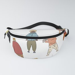 People illustrations Fanny Pack