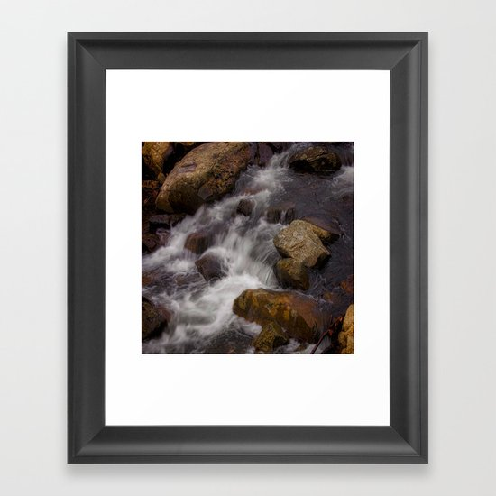 The Babbling Brooke Framed Art Print