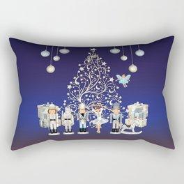 Christmas time - Nutckracker Story on Christmas eve Rectangular Pillow