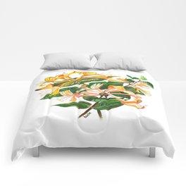 Honeysuckle Bouquet Comforters