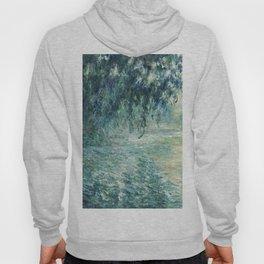 1898-Claude Monet-Morning on the Seine- 73 x 91 Hoody