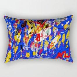 Mural abstract 5 Rectangular Pillow
