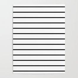 Minimalist Stripes Poster