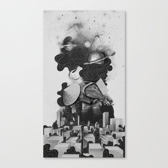 The Night Gatherer Canvas Print