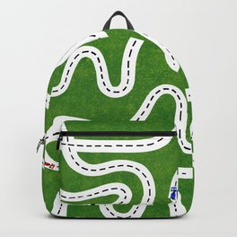 Green Speed Racers Backpack