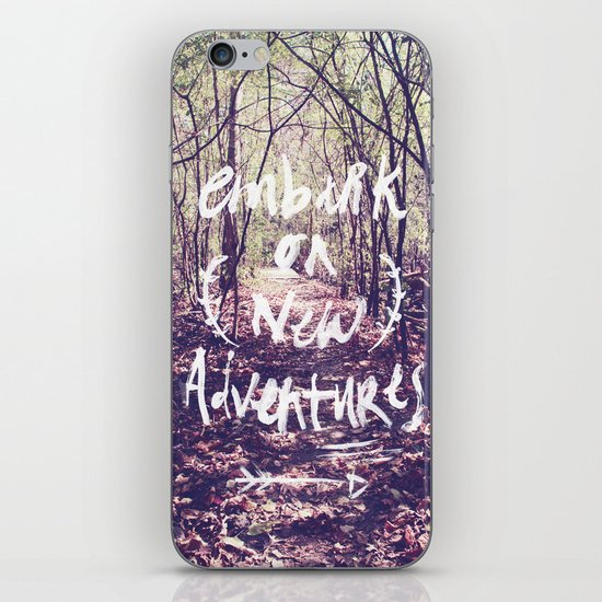 New Adventures iPhone & iPod Skin